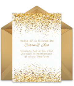 Free Shower Bouquets Fl Bloom Invitation