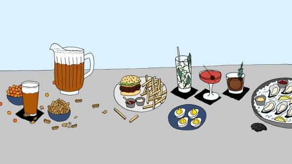 bar food - punch