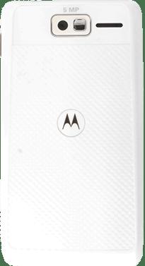 Motorola RAZR D1 XT914 Inserta una tarjeta de memoria