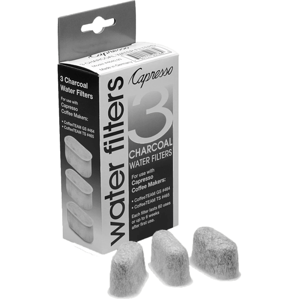 Capresso 3-pack Charcoal Water Filters Quench Essentials