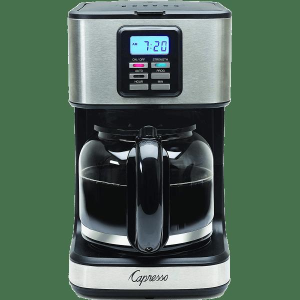 Capresso Sg220 12-cup Glass Carafe Coffee Maker Quench