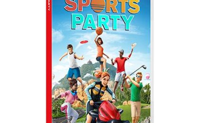 Ubisoft Sports Party Video Game Basic Nintendo Switch
