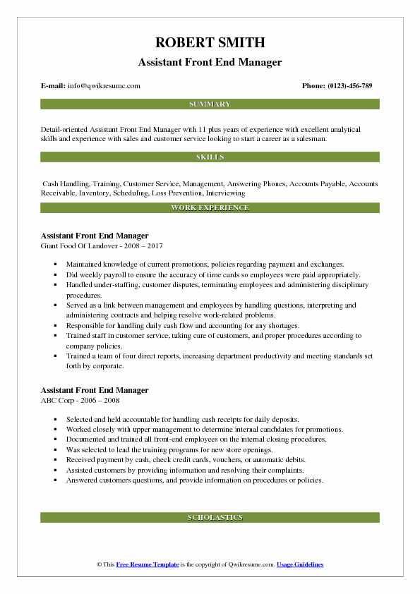 Career Objective Customer Service Manager For Resume