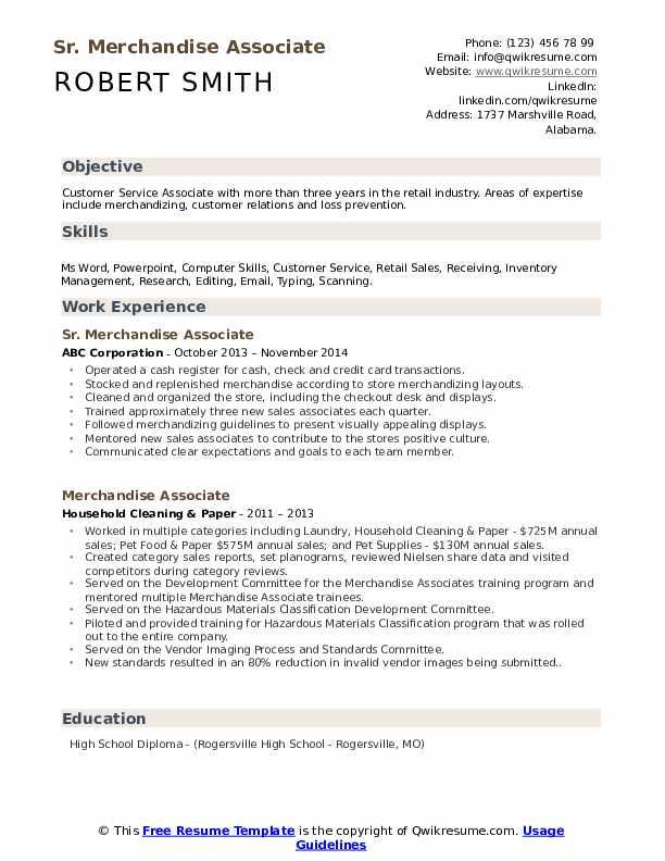 resume headline for research associate