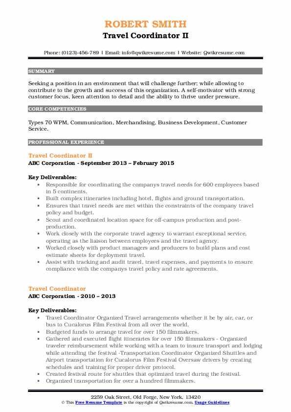 resume samples for sales