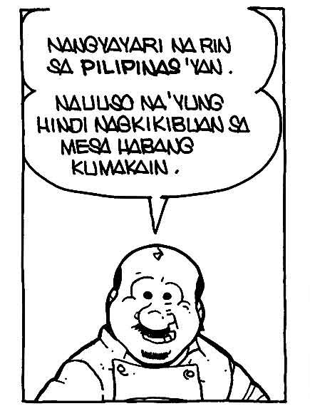 #PugadBaboy: Table manners punchline 2