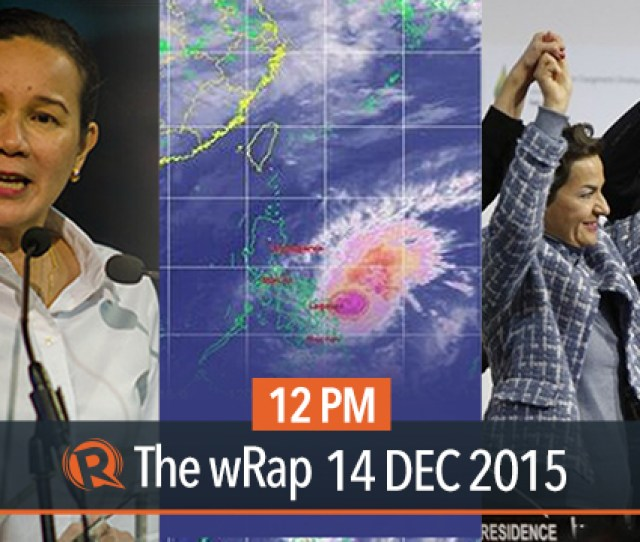 Watch The 12pm Edition Of Rappler S Newscast The Wrap