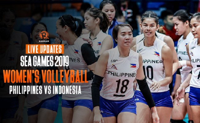 Live Updates Philippines Vs Indonesia Sea Games 2019
