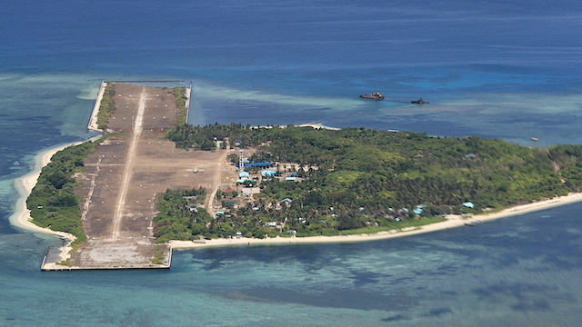 DILAPIDATED. The runway on Pag-asa Island, the second biggest island in the Spratlys, was built in the 70s