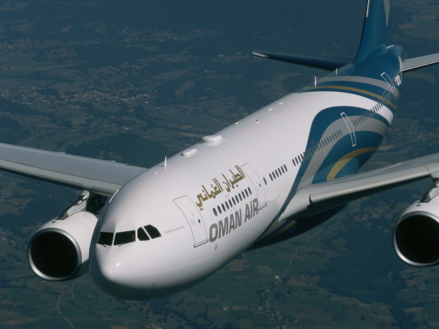 LONE CARRIER. Oman Air, the lone carrier serving the Muscat-Manila route, eyes to increase the frequency of its long haul service to the Philippines from 3 times a week to daily. File photo from Oman Air