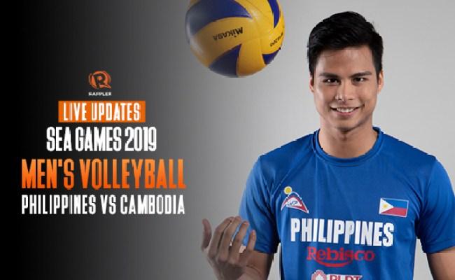 Live Updates Philippines Vs Cambodia Sea Games 2019 Men
