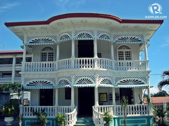 CARCAR. Known as Cebu's heritage city, Carcar is home to beautiful old structures like this. Photo by Ephraim Arriesgado