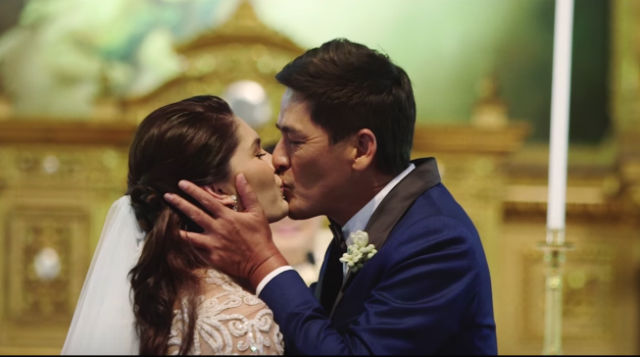 WATCH Vic Sotto and Pauleen Lunas romantic wedding video