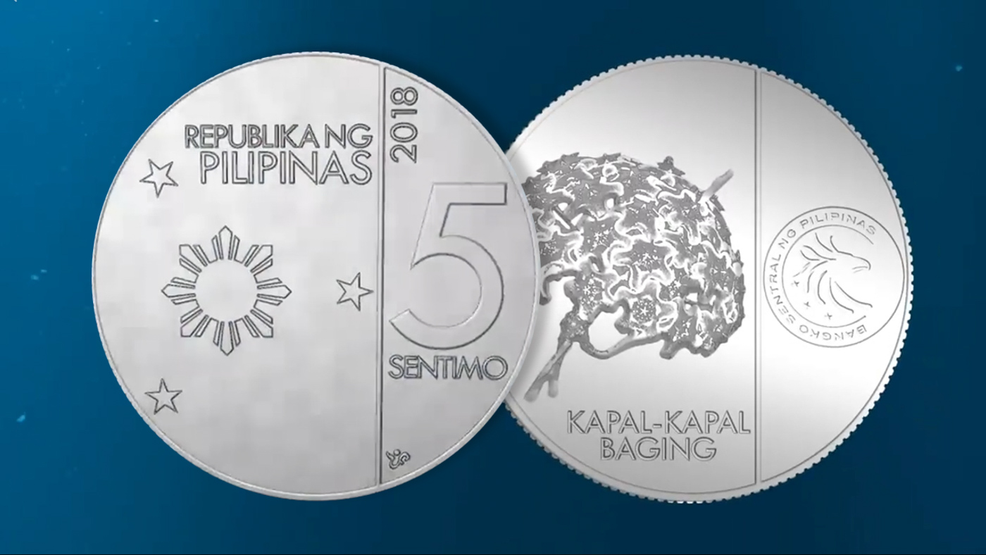 Look Newly Designed Philippine Coins