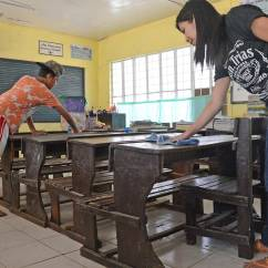 Desk Chair Reviews Yoga Workout Deped Calls On Public To Support Brigada Eskwela 2016