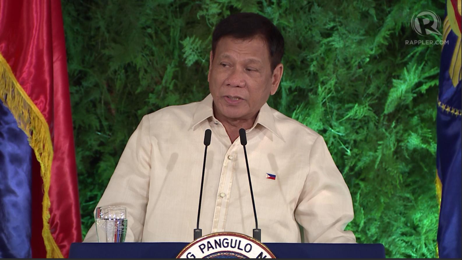 FULL TEXT President Rodrigo Dutertes inaugural speech