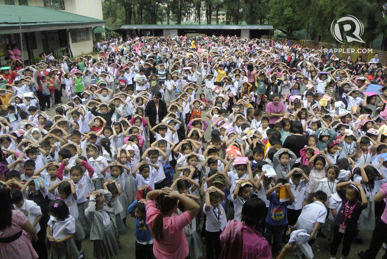 Thousands Participate In The 3rd Nationwide Earthquake Drill