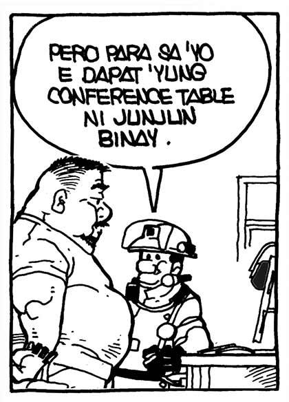 #PugadBaboy: Earthquake Drill punchline 2