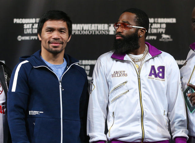 Will Broner's beard come off? Team Pacquiao asks