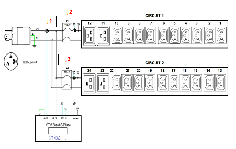 30a Load Center Wiring Diagram Pdu Circuit Breakers And Branch Circuits Why Monitor Both