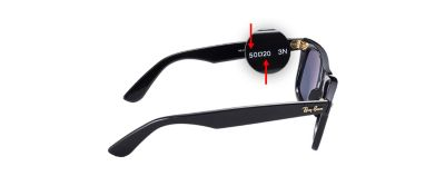 Ray ban sunglasses frame size also guide  eyeglasses sizes usa rh