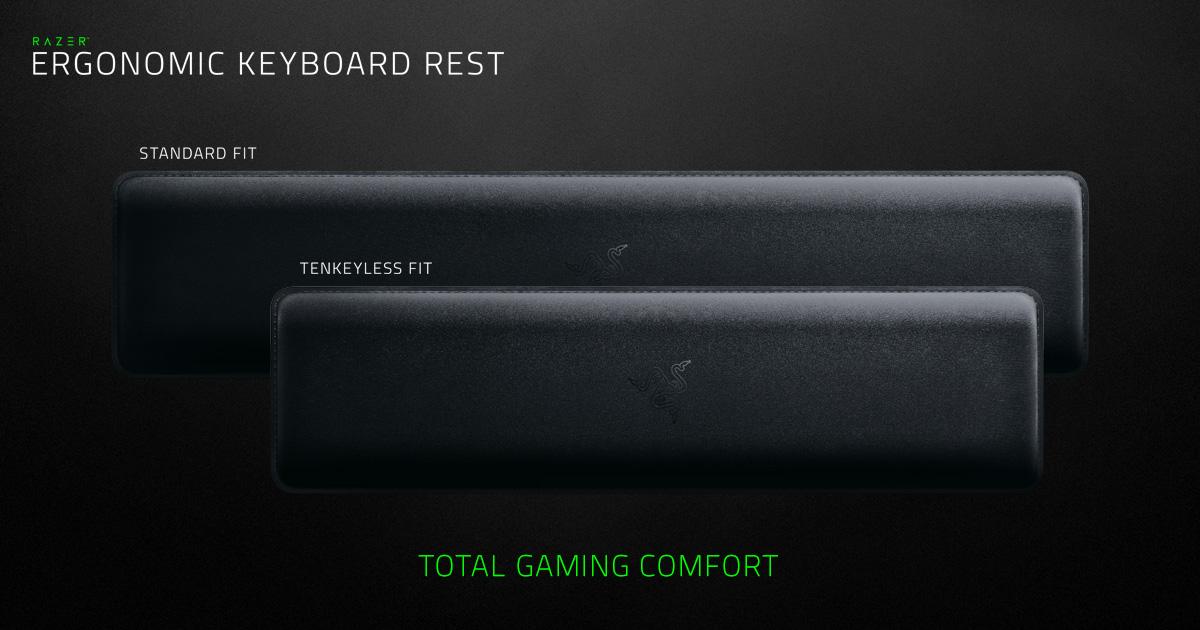 Razer Ergonomic Keyboard Rest  Gaming Accessories