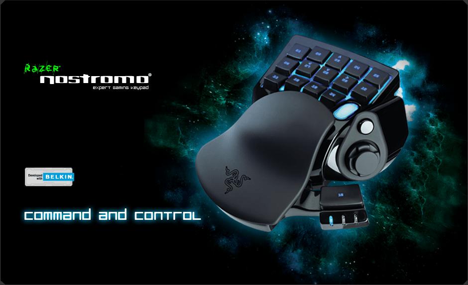 Razer Nostromo Gaming Keypad  Ergonomic Keypad for Gaming