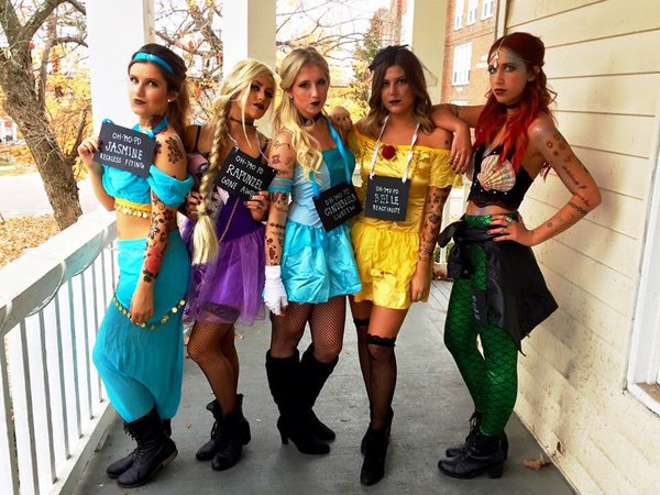 The annual halloween block party at ohio university has been canceled. Best Costumes At Ohio University S Halloween Block Party