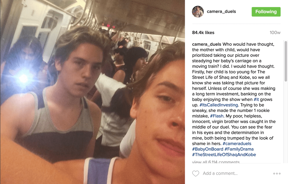 Cole Sprouse Angelic Perfection