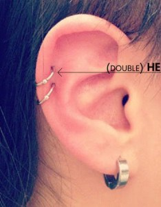 Everyone   level of pain tolerance is different but for me on  scale one to double helix piercing three so like hard pinch my ear also things no told about new cartilage rh theodysseyonline