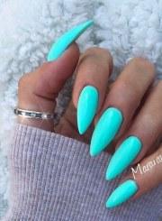 8 nail shapes and colors