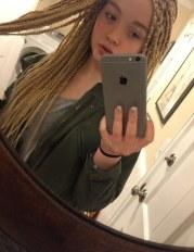 12-year- white girl harshly