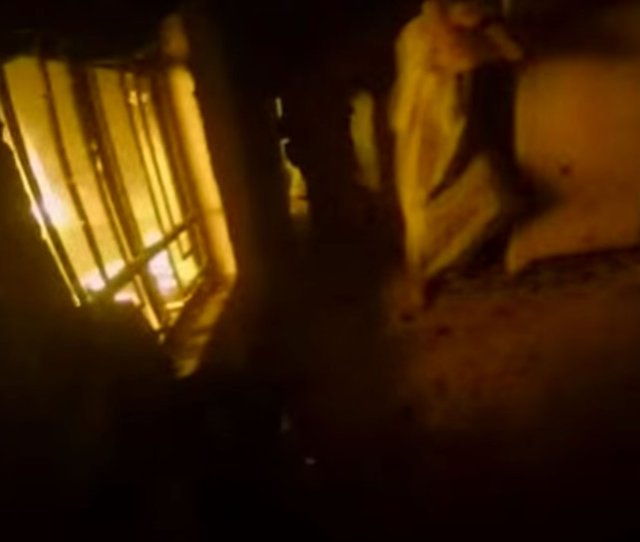 The Video Which Appears To Show A Helmet Cam View From A Kurdish Peshmerga Fighter Shows Scenes Of Freed Prisoners Running Across A Danger Area As Gunfire
