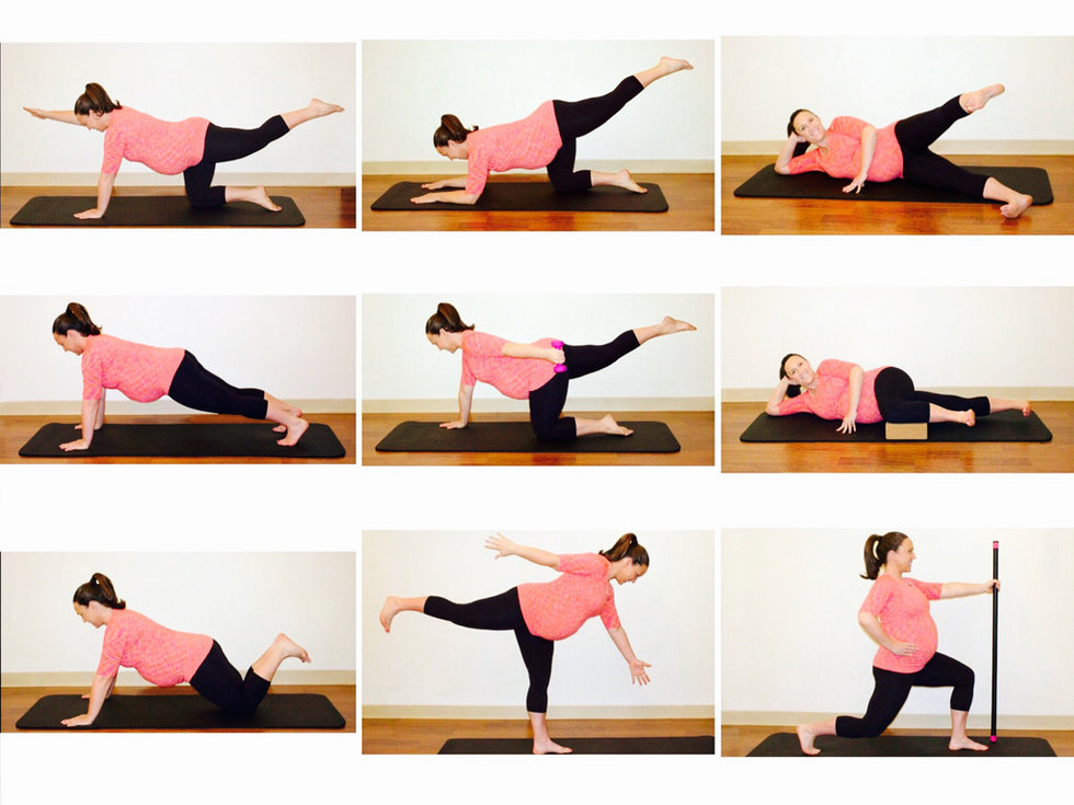 9 Simple Pregnancy Exercises - Motherly