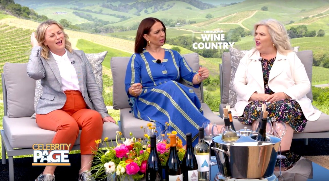 Amy Poehler, Maya Rudolph, and Tina Fey Talk Wine Country - Celebrity Page - Travel Movies