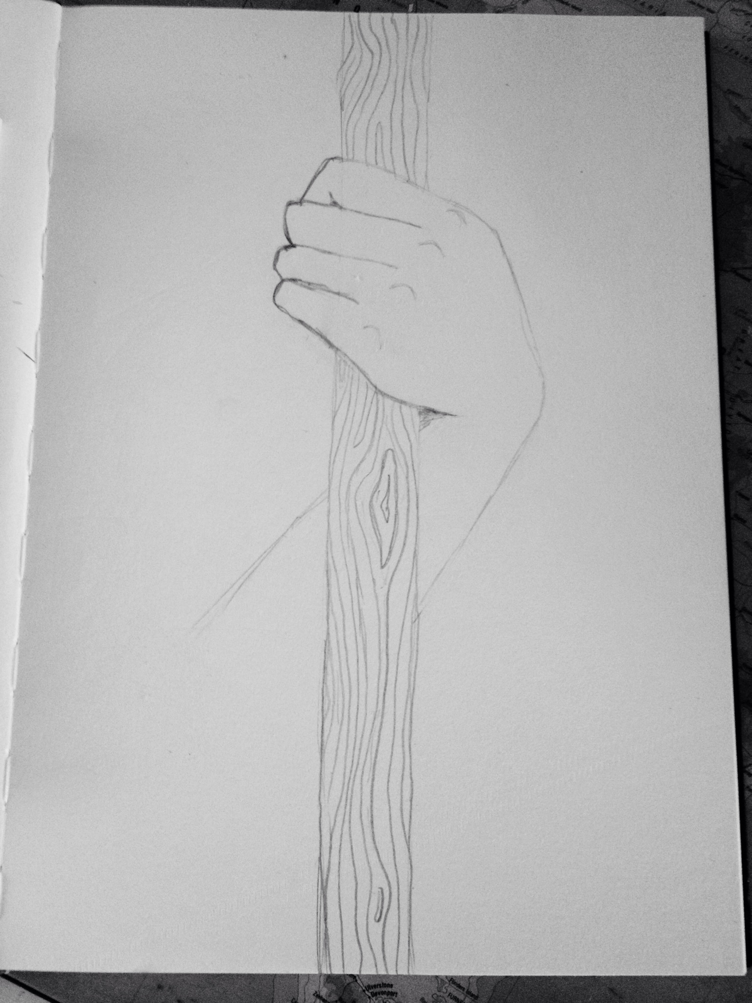 How To Draw Hand Holding : holding, Holding, Staff, Guides