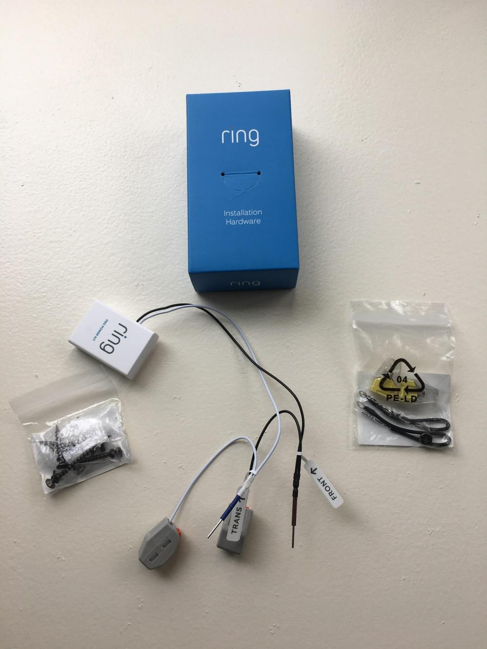 medium resolution of  ring video doorbell pro power kit