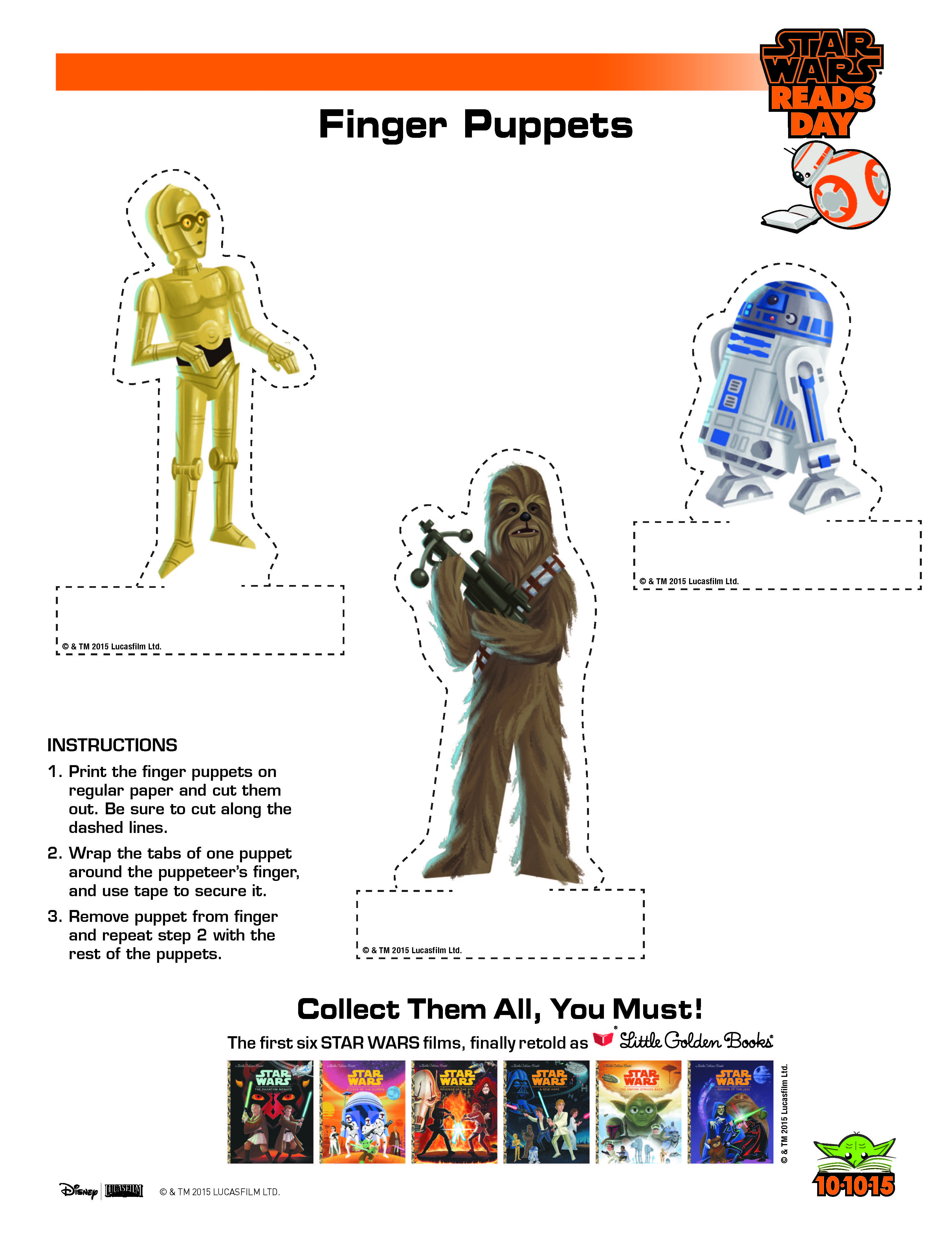 Star Wars Printables And Activities