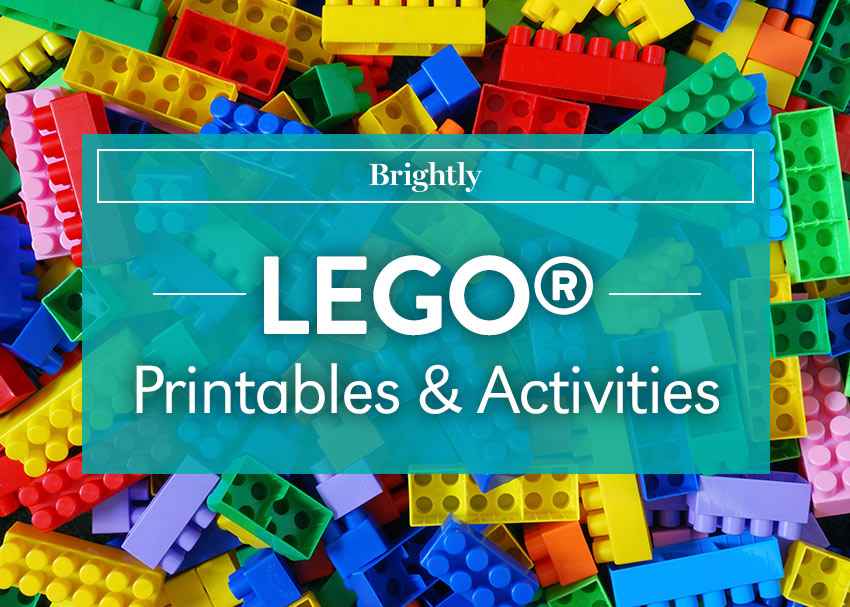 LEGO Printables And Activities Brightly