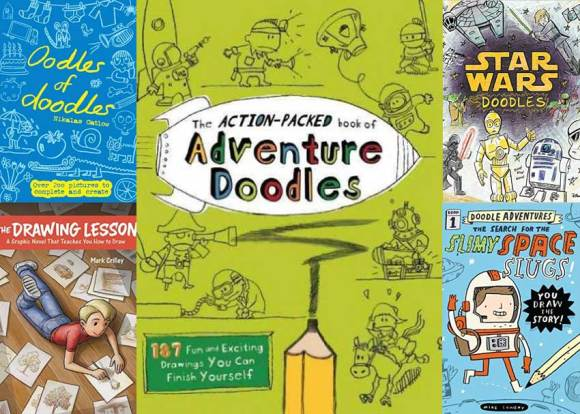 Dare to Doodle: 7 Unconventional Drawing Books for Kids ...