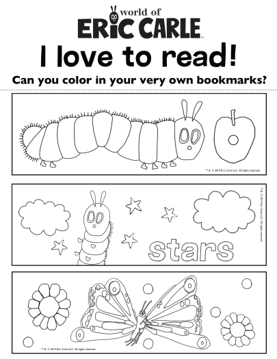 Eric Carle Coloring Pages : carle, coloring, pages, Carle, Printables, Activities, Brightly