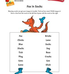 Dr. Seuss Printables and Activities   Brightly [ 1290 x 992 Pixel ]