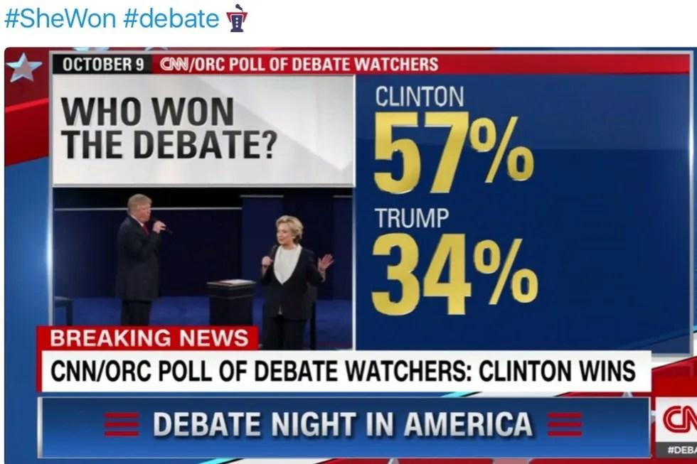 hillary wins cnn politico