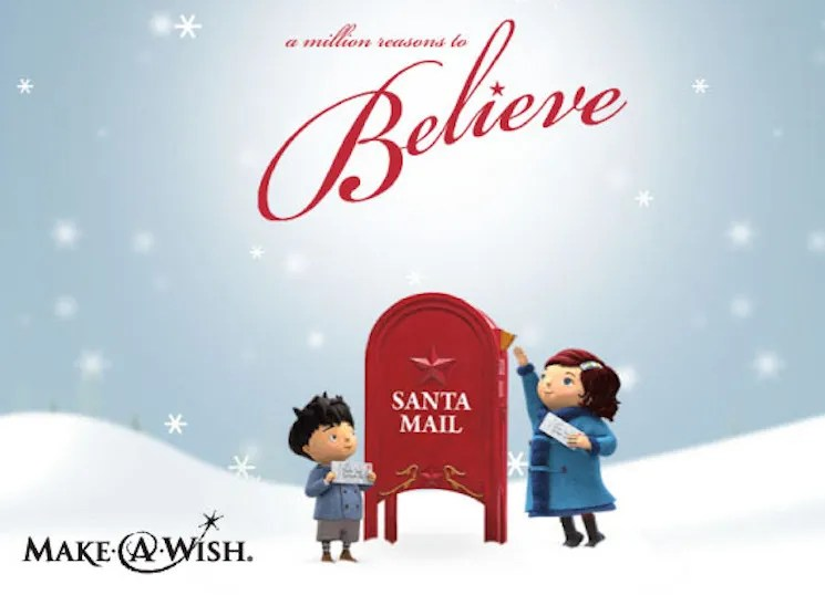 Make-a-Wish Come True by Writing a Letter to Santa