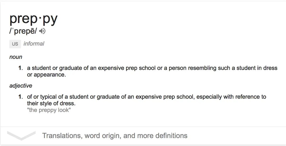 what being preppy really