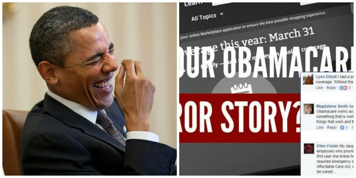 Republicans Asked People To Share Their Obamacare Horror ...