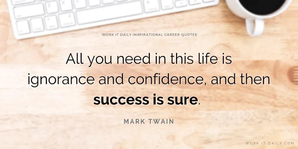 21 inspirational career quotes