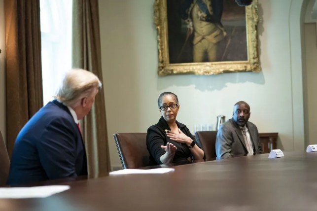 VIDEO: President Trump meets the Michigan Democrat who credited him with saving her life: Had Trump not pushed HCQ drug, 'I wouldn't be here today.'