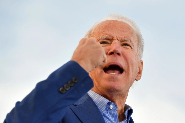 VIDEO: Joe Biden said in 2008 that he almost got arrested for chasing a 'lovely group of women' into an all-female dormitory