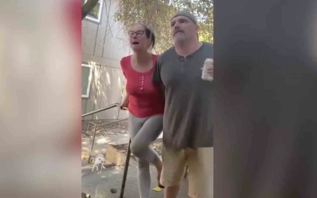 VIDEO: California prof. apologizes after wife used racial slur during couple's 'disturbing' confrontation with neighbors